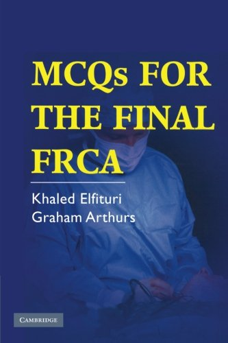 9780521689410: MCQs for the Final FRCA