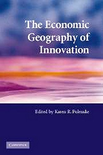 9780521689533: The Economic Geography of Innovation Paperback