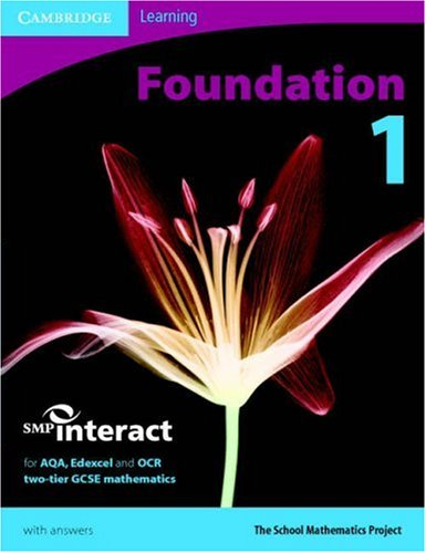 9780521689939: SMP GCSE Interact 2-tier Foundation 1 Pupil's Book (SMP Interact 2-tier GCSE)