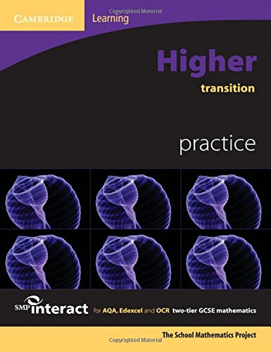 Higher Transition Practice for Aqa, Edexcel and: School Mathematics Project