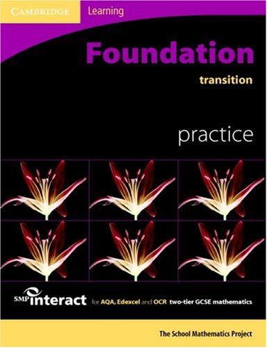 9780521690027: SMP GCSE Interact 2-tier Foundation Transition Practice Book (SMP Interact 2-tier GCSE)