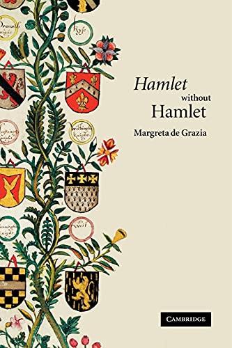9780521690362: 'Hamlet' without Hamlet Paperback