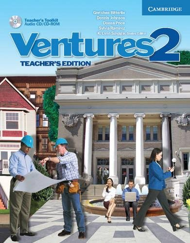 9780521690805: Ventures Level 2 Teacher's Edition with Teacher's Toolkit Audio CD/CD-ROM
