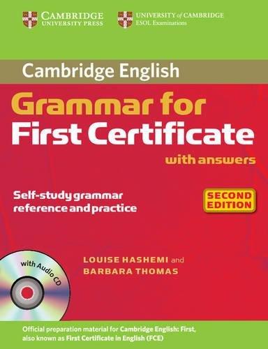 9780521690874: Cambridge grammar for first certificate. With answers. Per le Scuole superiori. Con CD Audio
