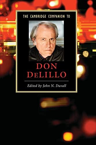 9780521690898: The Cambridge Companion to Don DeLillo