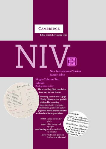 9780521691185: NIV Single Column Text Edition black goatskin NI176FH