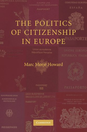 9780521691277: The Politics of Citizenship in Europe