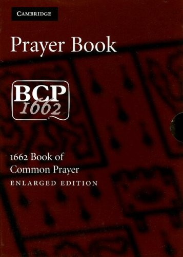 9780521691512: Book of Common Prayer Enlarged Edition BCP706 brown goatskin leather