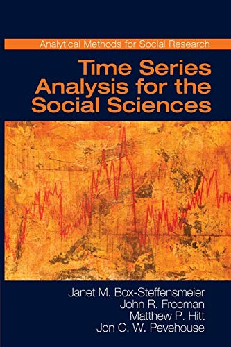 9780521691550: Time Series Analysis for the Social Sciences (Analytical Methods for Social Research)