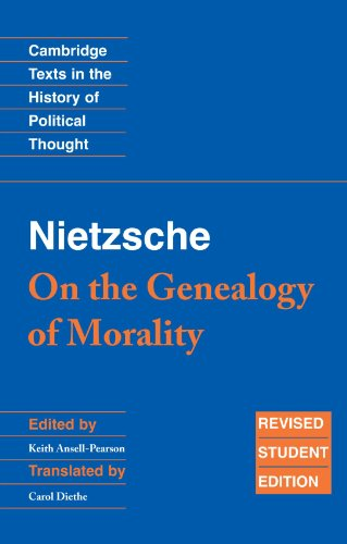 9780521691635: Nietzsche: 'On the Genealogy of Morality' and Other Writings Student Edition 2nd Edition Paperback (Cambridge Texts in the History of Political Thought)