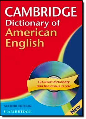 9780521691987: Cambridge Dictionary of American English 2nd Paperback with CD-ROM