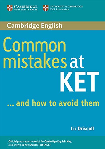 9780521692489: Common mistakes at KET and how to avoid them. Per le Scuole superiori