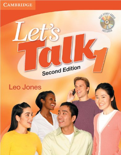 9780521692816: Let's Talk 2nd Student's Book 1 with Self-Study Audio CD (Let's Talk (Cambridge))