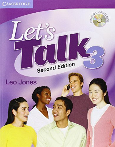 9780521692878: Let's Talk 2nd 3 Student's Book with Self-study Audio CD