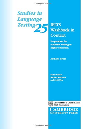9780521692922: IELTS Washback in Context: Preparation for Academic Writing in Higher Education (Studies in Language Testing)