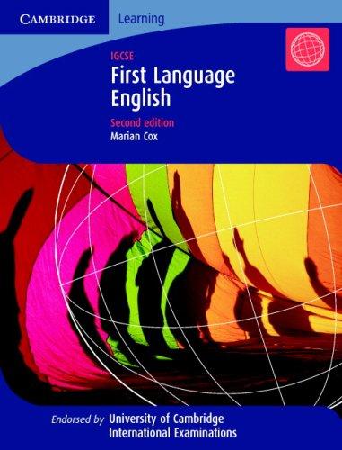9780521693066: First Language English: IGCSE (Cambridge International Examinations)