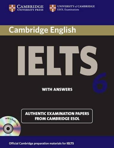 9780521693080: Cambridge IELTS 6 Self-study Pack: Examination Papers from University of Cambridge ESOL Examinations (IELTS Practice Tests)
