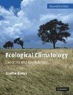 9780521693196: Ecological Climatology: Concepts and Applications