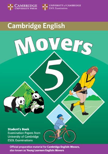 9780521693288: Cambridge young learners English tests. Movers. Student's book. Per la Scuola media: Cambridge Young Learners English Tests Movers 5 Student Book: ... the University of Cambridge ESOL Examinations