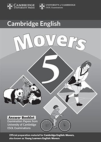 9780521693295: Cambridge Young Learners English Tests Movers 5 Answer Booklet: Examination Papers from the University of Cambridge ESOL Examinations