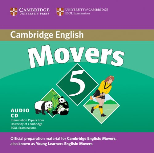 9780521693318: Cambridge Young Learners English Tests Movers 5 Audio CD: Examination Papers from the University of Cambridge ESOL Examinations