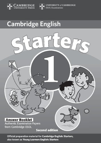 9780521693370: Cambridge Young Learners English Tests Starters 1 Answer Booklet: Examination Papers from the University of Cambridge ESOL Examinations
