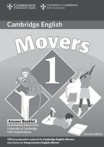 9780521693417: Cambridge Young Learners English Tests Movers 1 Answer Booklet: Examination Papers from the University of Cambridge ESOL Examinations: Level 1