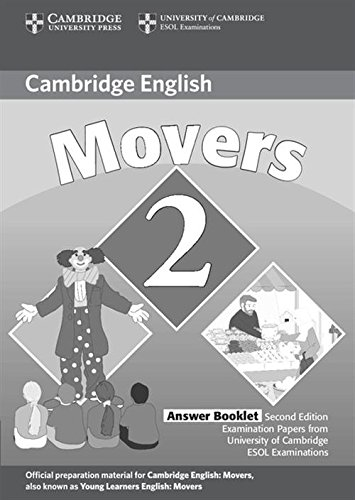 9780521693530: Cambridge Young Learners English Tests Movers 2 Answer Booklet: Examination Papers from the University of Cambridge ESOL Examinations: Level 2