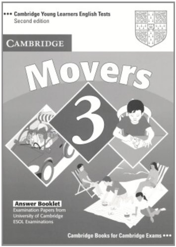 9780521693653: Cambridge Young Learners English Tests Movers 3 Answer Booklet: Examination Papers from the University of Cambridge ESOL Examinations: Level 3
