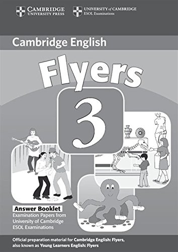 9780521693691: Cambridge Young Learners English Tests Flyers 3 Answer Booklet: Examination Papers from the University of Cambridge ESOL Examinations