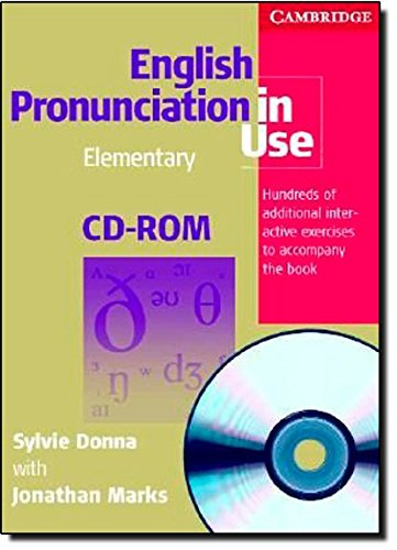 9780521693707: English Pronunciation in Use Elementary CD-ROM for Windows and Mac (single user)