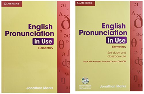 9780521693738: English Pronunciation in Use: Elementary 5 Audio CDs and CD-ROM