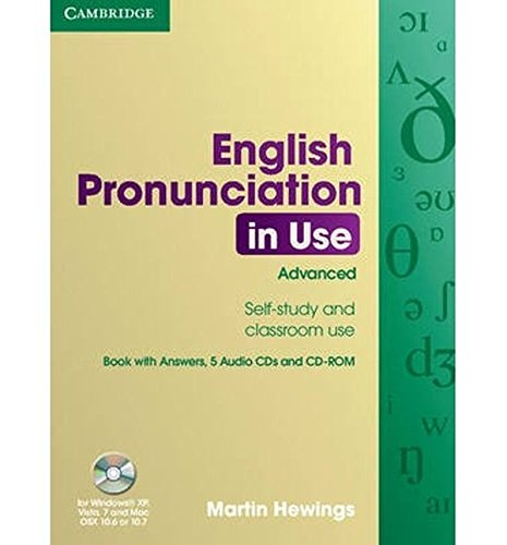 9780521693769: English Pronunciation in Use Advanced Book with Answers, 5 Audio CDs and CD-ROM (Win 2000/XP)