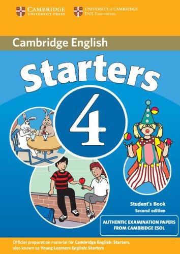 9780521693974: Cambridge young learners english tests. Starters. Student's book. Per la Scuola media: 4