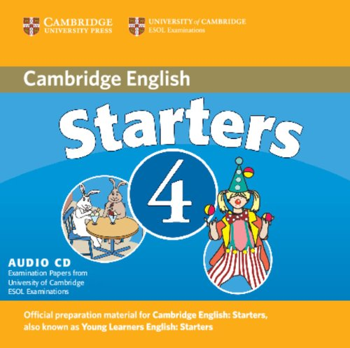 9780521694001: Cambridge Young Learners English Tests Starters 4 Audio CD: Examination Papers from the University of Cambridge ESOL Examinations