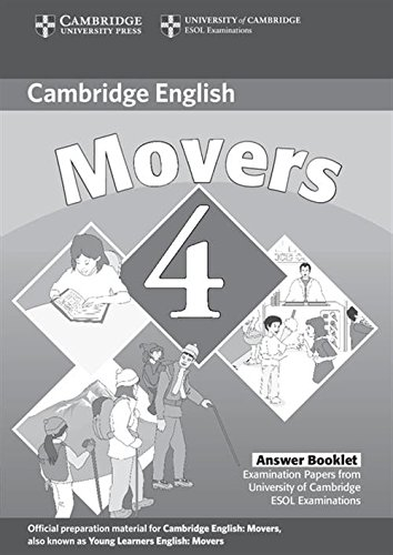 9780521694025: Cambridge Young Learners English Tests Movers 4 Answer Booklet: Examination Papers from the University of Cambridge ESOL Examinations: Level 4
