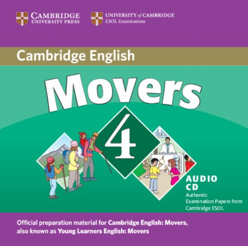 9780521694049: Cambridge Young Learners English Tests Movers 4 Audio CD: Examination Papers from the University of Cambridge ESOL Examinations