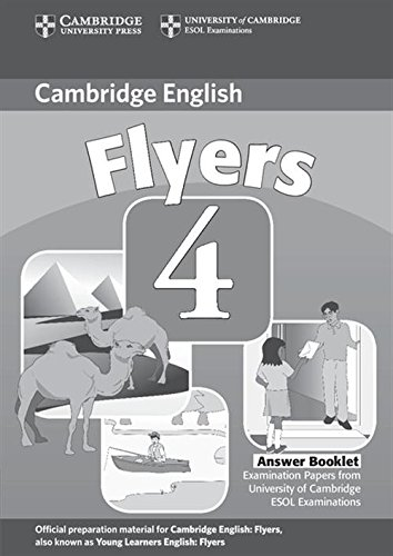 9780521694063: Cambridge Young Learners English Tests Flyers 4 Answer Booklet: Examination Papers from the University of Cambridge ESOL Examinations