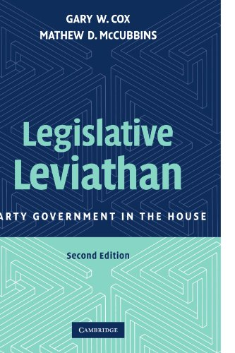9780521694094: Legislative Leviathan: Party Government in the House