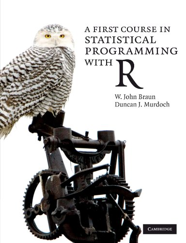 9780521694247: A First Course in Statistical Programming with R Paperback