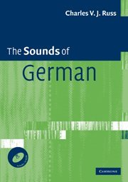 9780521694629: The Sounds of German with CD-ROM