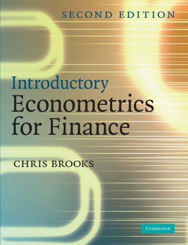 9780521694681: Introductory Econometrics for Finance 2nd Edition Paperback: 0 (Information Technology & Law S)