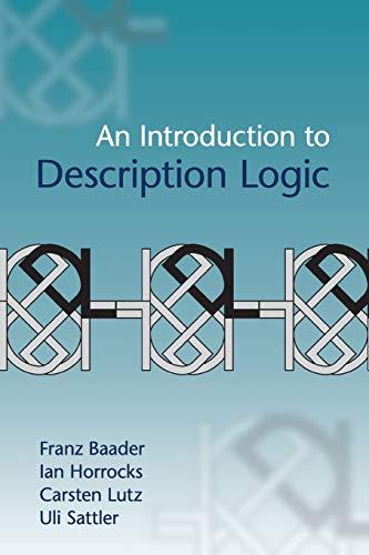 9780521695428: An Introduction to Description Logic