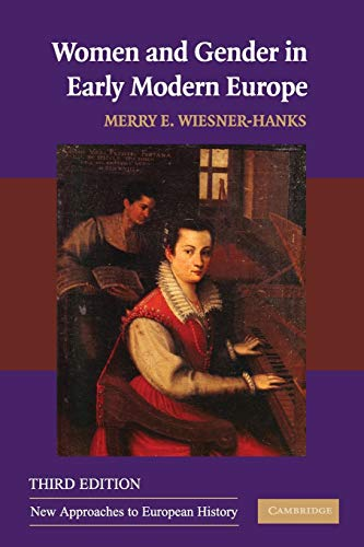 9780521695442: Women and Gender in Early Modern Europe (New Approaches to European History)