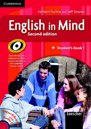 9780521695718: English in Mind 1 Student's Book and Workbook with Audio CD, Culture Book and DVD Italian Edition (No. 1)