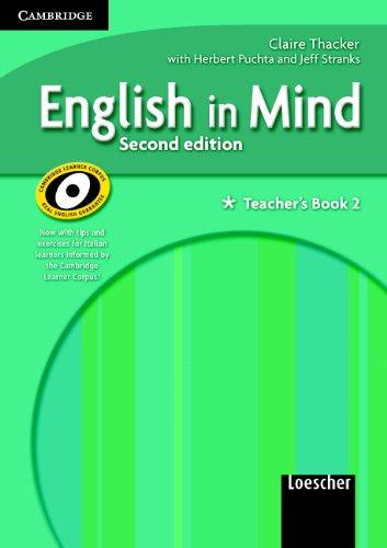 9780521695848: English in Mind 2 Teacher's Book Italian Edition