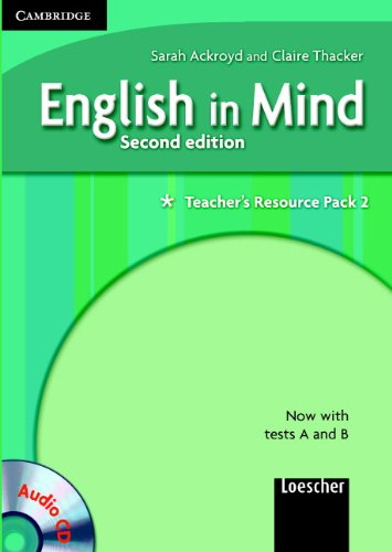 9780521695855: English in Mind 2 Teacher's Resource Pack with Audio CD Italian Edition