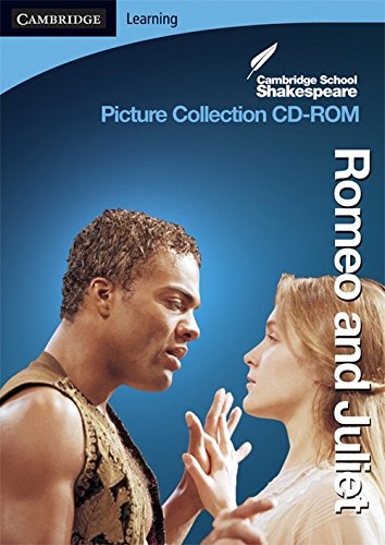 Cambridge School Shakespeare: Romeo And Juliet- Picture Collection Cd-rom.: Shakespeare, William; ...