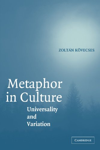 9780521696128: Metaphor in Culture: Universality and Variation