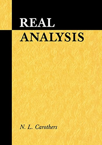 9780521696241: Real Analysis (1/ED)